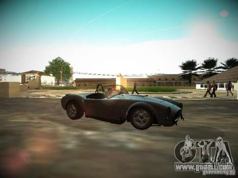 Shelby Cobra for GTA San Andreas left view