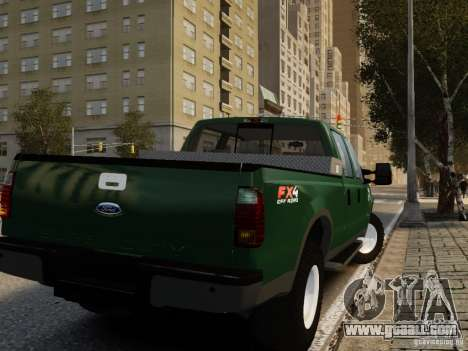 Ford F-250 FX4 2009 for GTA 4 left view