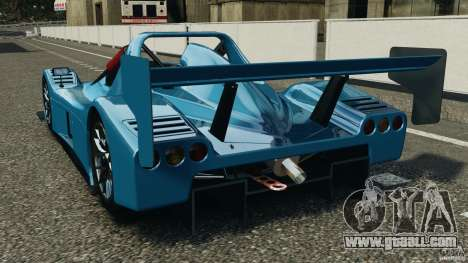 Radical SR3 for GTA 4 back left view