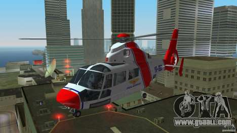 Eurocopter As-365N Dauphin II for GTA Vice City left view