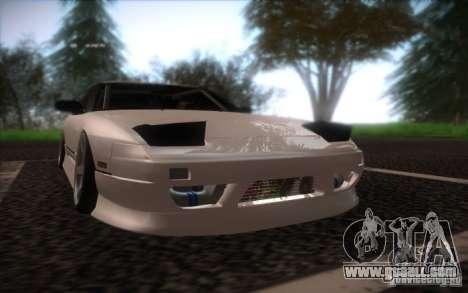 Nissan 240SX DriftMonkey for GTA San Andreas