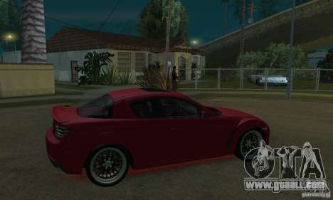 Red neon lights for GTA San Andreas