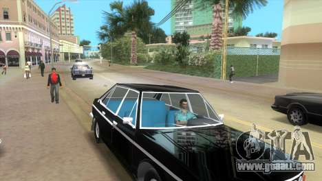 Tatra 613 1973 for GTA Vice City back left view
