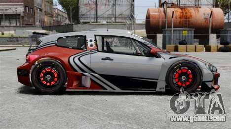 Volkswagen Scirocco BTCS MkIII 2010 for GTA 4 left view