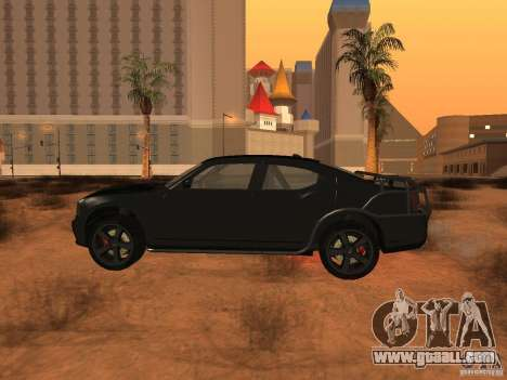 Dodge Charger Fast Five for GTA San Andreas left view