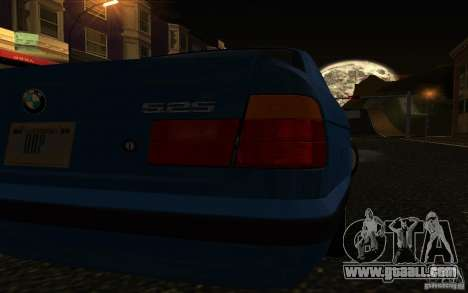 BMW 525 E34 V.3 for GTA San Andreas right view