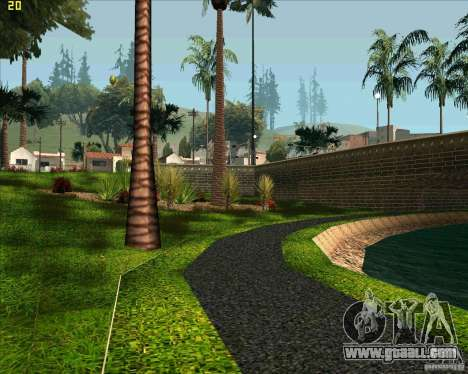The new Park in Los Santos for GTA San Andreas third screenshot