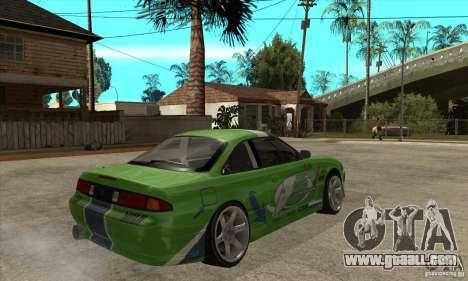 Nissan Silvia S14a JardinE Drift for GTA San Andreas right view