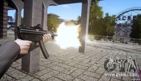 H&K MP5k for GTA 4 forth screenshot