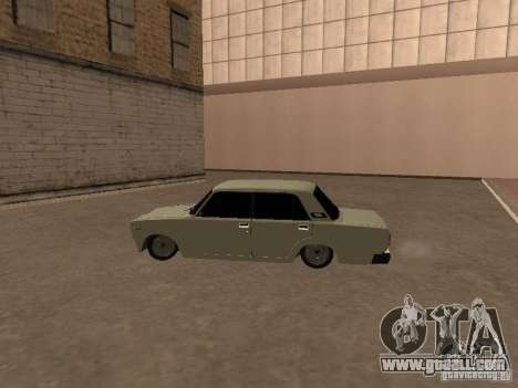 VAZ 2107 broken for GTA San Andreas right view