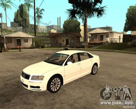 Audi A8 2003 for GTA San Andreas