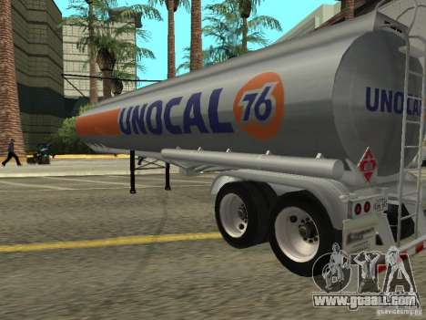 American Trailers Pack for GTA San Andreas right view