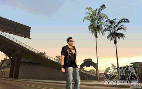 Biker for GTA San Andreas third screenshot