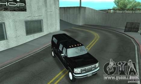 Ford F-350 1992 for GTA San Andreas wheels