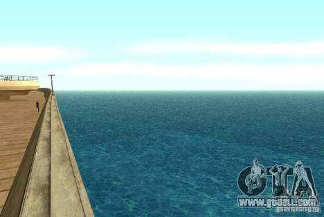 New texture water for GTA San Andreas second screenshot