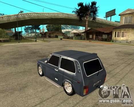 NIVA Mustang for GTA San Andreas left view