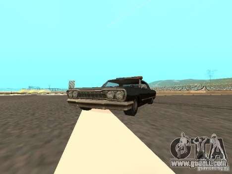Police Savanna for GTA San Andreas
