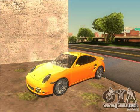 Porsche 911 Turbo (997) 2007 for GTA San Andreas