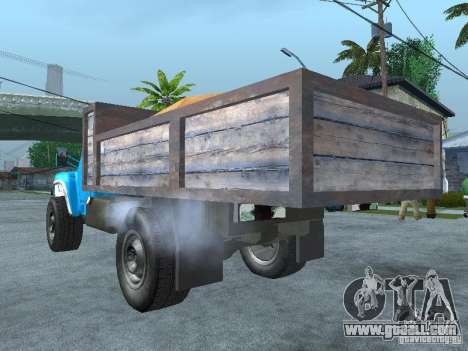 ZIL 130 garbage truck for GTA San Andreas left view