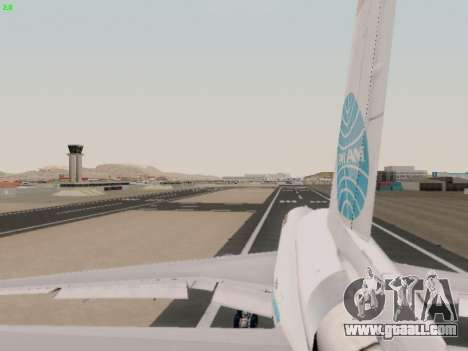 McDonell Douglas DC-10-30 PanAmerican Airways for GTA San Andreas side view