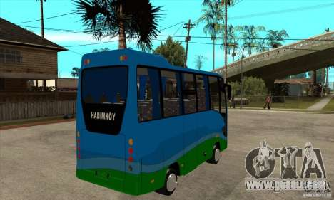 Iveco Eurocity for GTA San Andreas right view