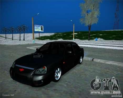 Lada Priora Vip Style for GTA San Andreas