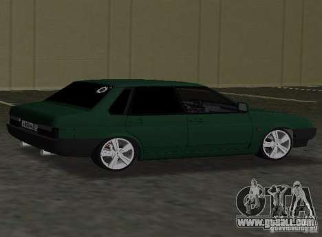 VAZ 2109 Tuning v2.0 for GTA Vice City left view