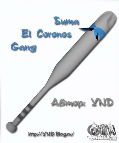 Bat El Coronos v.1.0 for GTA San Andreas