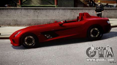 Mercedes-Benz SLR McLaren Stirling Moss [EPM] for GTA 4 left view