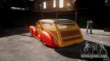 Chevy Fleetmaster Woody Kustom 1948 for GTA 4 side view