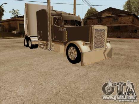 Trailer, Peterbilt 379 Custom for GTA San Andreas left view