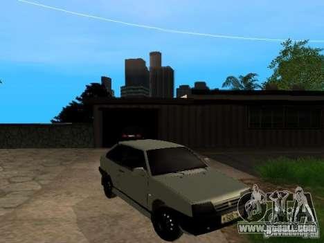 VAZ 2108 Gangsta Edition for GTA San Andreas