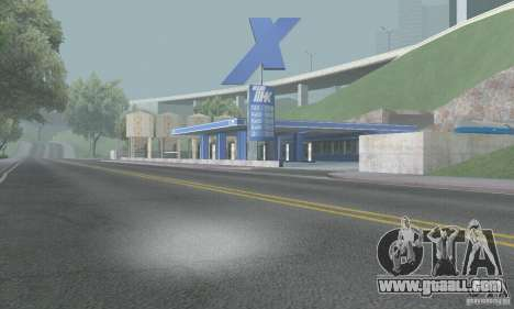 The new gas station TNK TNK + Trailer for GTA San Andreas second screenshot