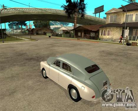 GAZ M20 Pobeda for GTA San Andreas left view