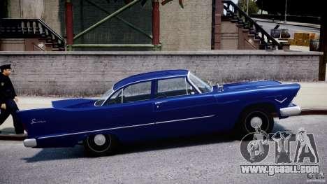 Plymouth Savoy Club Sedan 1957 for GTA 4 inner view