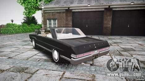 Ford Mercury Comet Caliente Sedan 1965 for GTA 4 side view