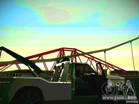 Towtruck tuned for GTA San Andreas left view