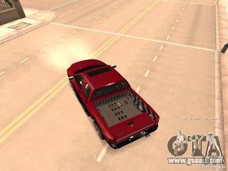 Dodge Ram 2010 for GTA San Andreas inner view