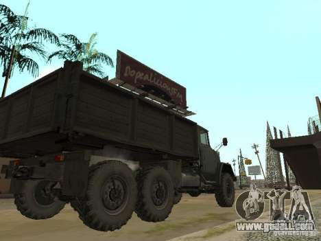 ZIL 131 Truck for GTA San Andreas right view