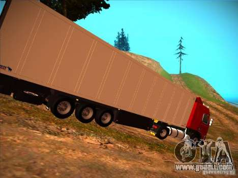 Volvo FH12 for GTA San Andreas back left view