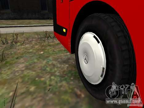 Mercedes Travego for GTA 4 bottom view