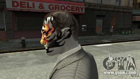 Tatoo Tiger for GTA 4 second screenshot