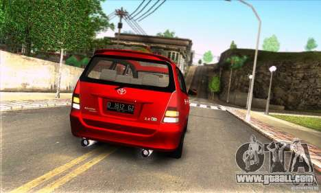 Toyota Kijang Innova 2.0 G for GTA San Andreas right view