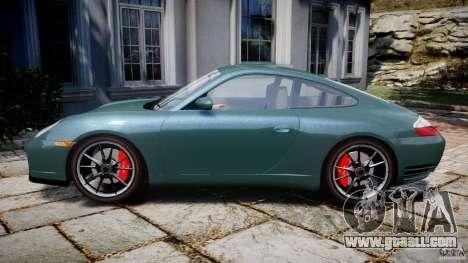 Porsche 911 (996) Carrera 4S for GTA 4 left view