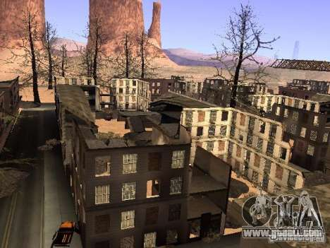 Chernobyl MOD v1 for GTA San Andreas eighth screenshot