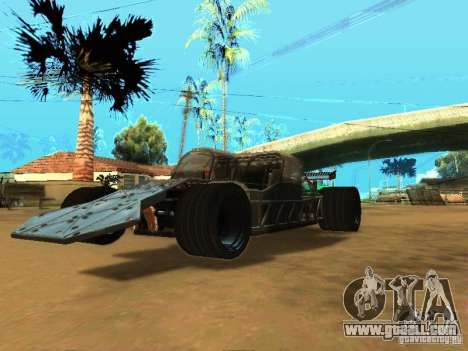 Fast & Furious 6 Flipper Car for GTA San Andreas back left view