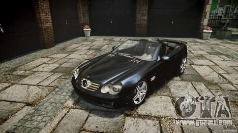 Mercedes Benz SL65 AMG for GTA 4 inner view