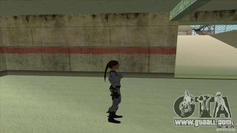 Lara Croft for GTA San Andreas forth screenshot