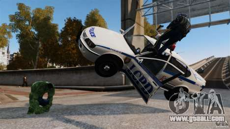 Hulk script for GTA 4 third screenshot
