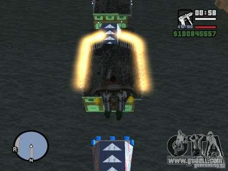 Night moto track for GTA San Andreas second screenshot